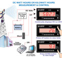 31_DC Watt Hours or Kilowatt Hours Measurement and Control with Data Logging