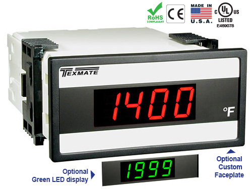 Texmate Panel Meter DX-35-TC-KF