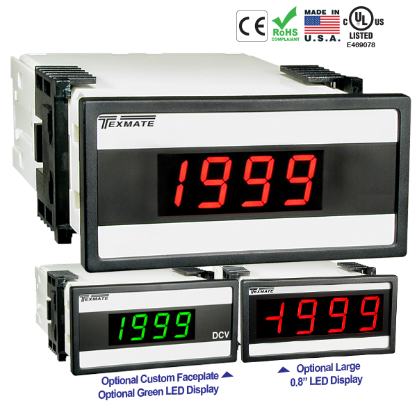 Texmate Panel Meter Controller DX-35