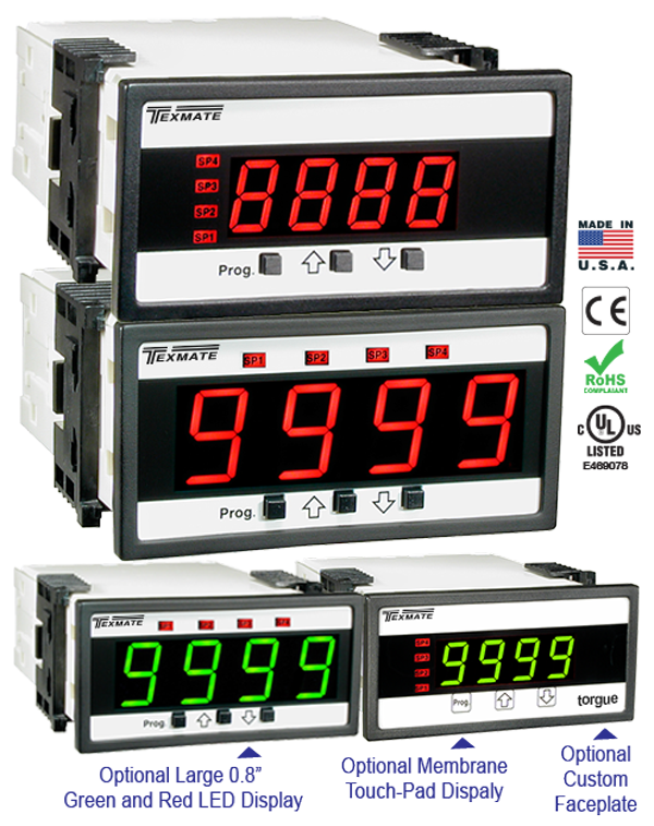 Texmate Panel Meter Controller DL-40