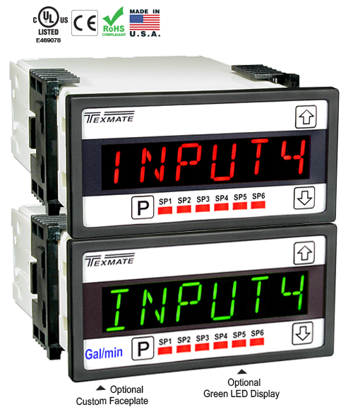 Texmate Panel Meter Controller LVDT-200