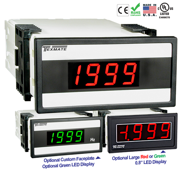 Texmate Panel Meter DX-35-HZ