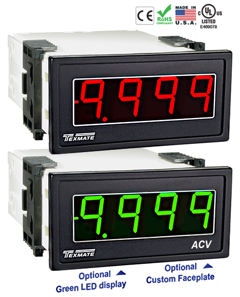 Texmate Panel Meter Controller DX-40