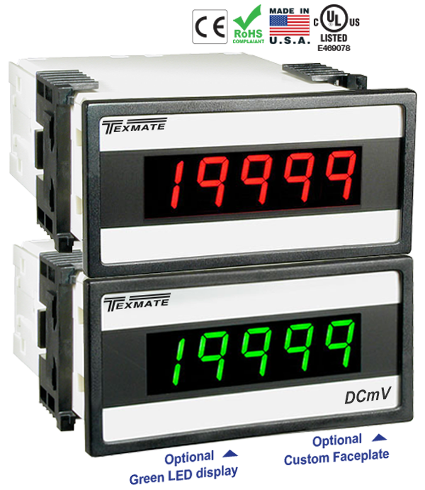 Texmate Panel Meter DX-45-DCA