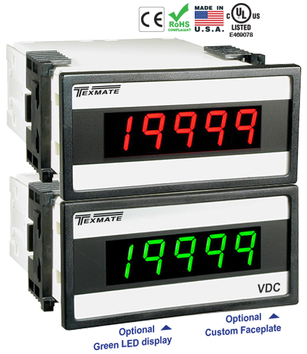 Texmate Panel Meter Controller DX-45