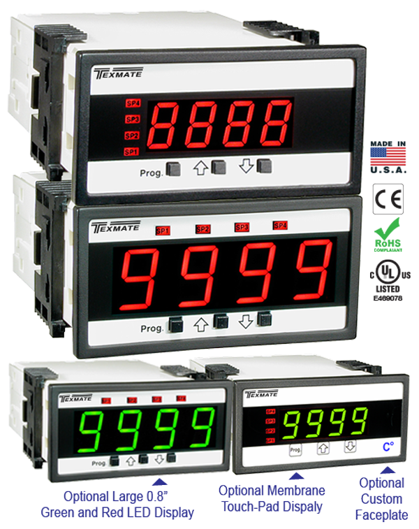 Texmate Panel Meter Controller DL-40H
