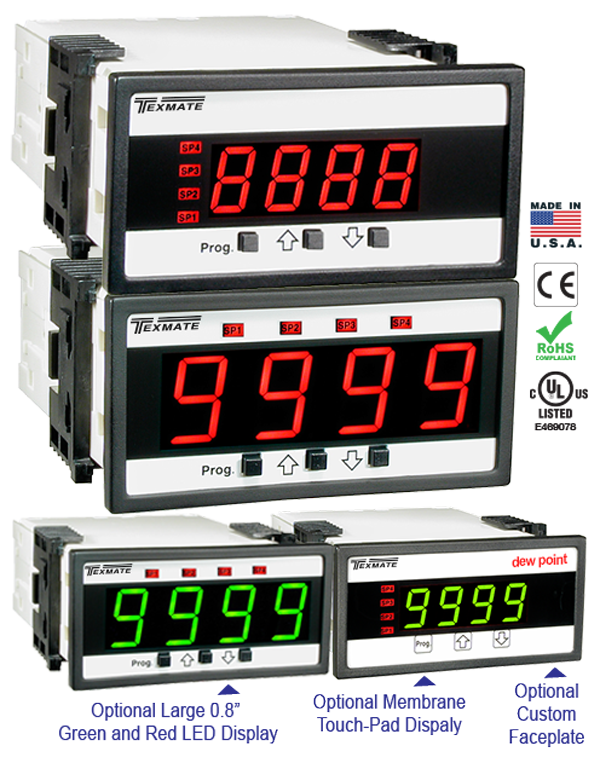 Texmate Panel Meter Controller DL-40PSF