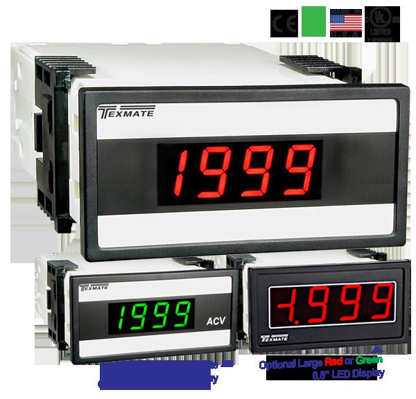 red LED w// control Programmable Digital AC Power Watt Meter