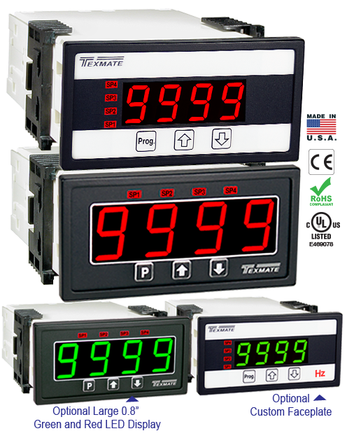 Texmate Panel Meter DL-40-HZ