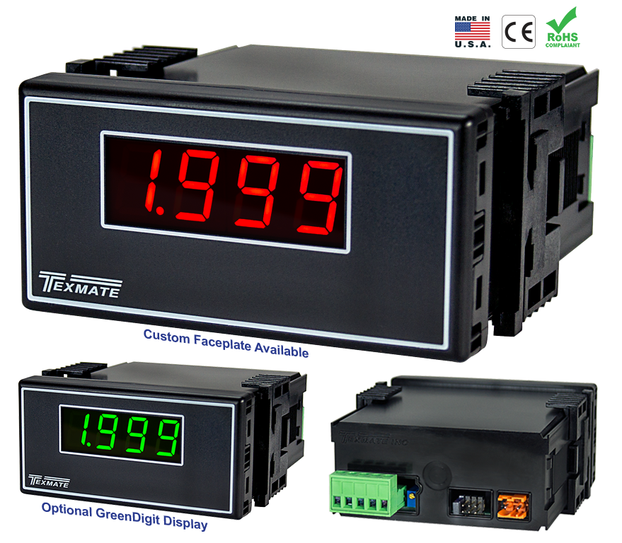 Texmate Panel Meter RP-35A