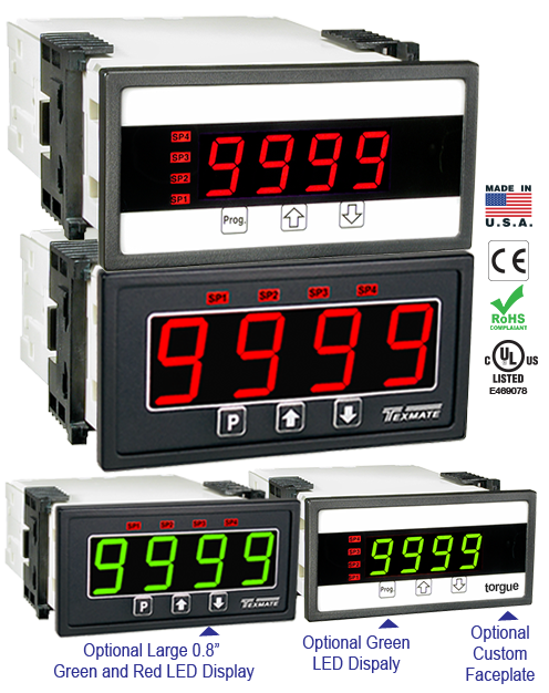Texmate Panel Meter DL-40-RTD