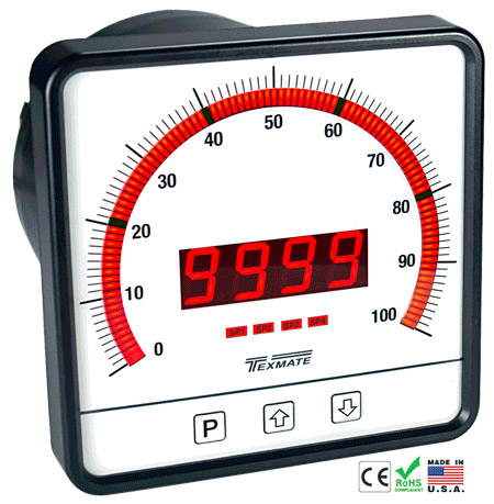 Texmate Panel Meter Controller CL-B101D40PS
