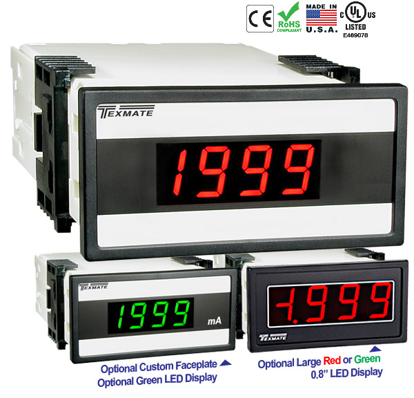 Texmate Panel Meter DX-35-PROCESS