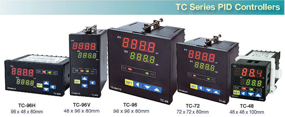 Texmate Advanced PID Controllers